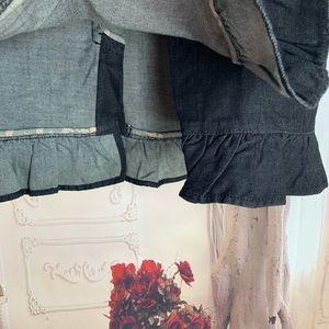 Anthropologie Skirts - NEW Anthropologie Leifsdottir French Indigo Denim